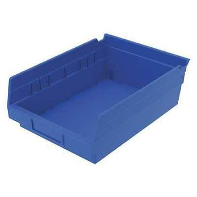 "Blue Shelf Bin, 11-5/8""L x 8-3/8""W x 4""H AKRO-MILS 30150BLUE"
