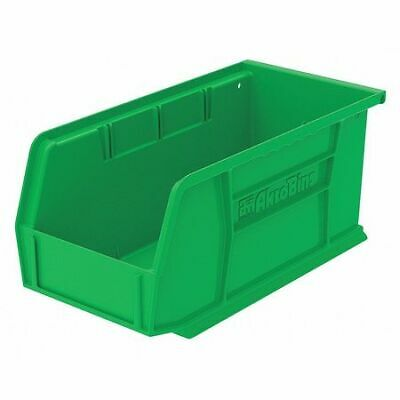 "Green Hang and Stack Bin, 10-7/8""L x 5-1/2""W x 5""H AKRO-MILS 30230GREEN"
