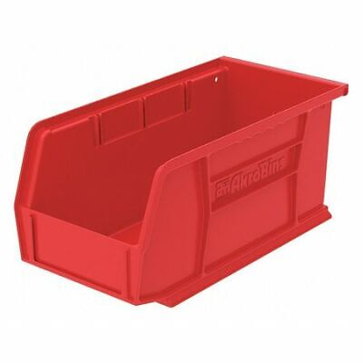 Hang/Stack Bin,10-7/8 x 5-1/2 x 5,Red AKRO-MILS 30230RED