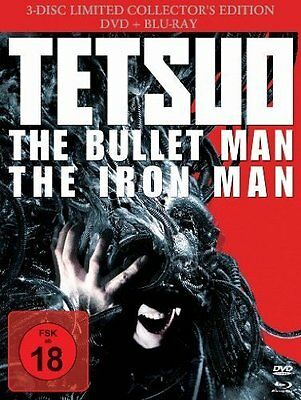 Blu-Ray Tetsuo - The Bullet Man - Iron Man - 3 Disc Limited Collectors Edition *