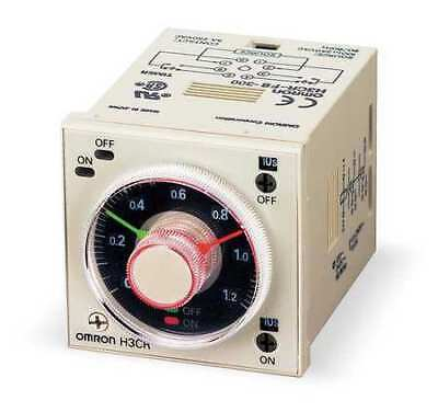 OMRON H3CR-F8AC100-240/DC100/125 Time Delay Relay,120VAC,5A,DPDT,Socket