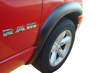 2002-2008 Dodge Ram 1500 2500 3500  Fender Flares Matte Black Factory Style 4 PC