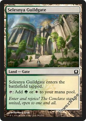4x Selesnya Guildate Dragon/'s Maze MtG Magic Land Common 4 x4 Card Cards