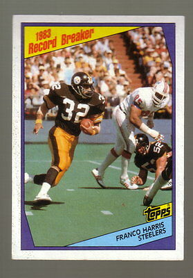 1984 PITTSBURGH STEELERS TOPPS TEAM LOT - 16 CARDS