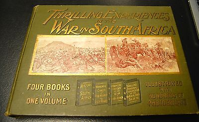 RARE BOOK!: Thrilling Experiences in the War in SOUTH AFRICA
