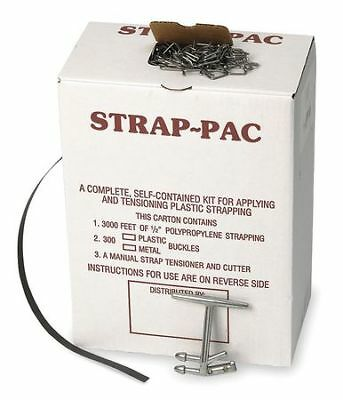 PAC STRAPPING PRODUCTS 2CXL3 Strapping Kit,Polypropylene,3000 ft. L