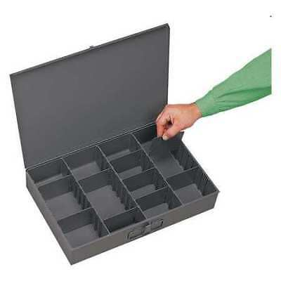 DURHAM 119-95-D936 Compartment Box, 12 In D, 18 In W, 3 In H