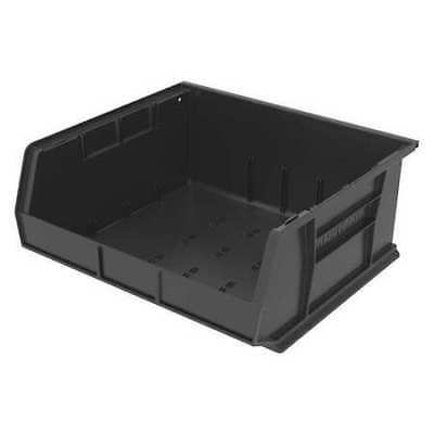 "Black Hang and Stack Bin, 14-3/4""L x 16-1/2""W x 7""H AKRO-MILS 30250BLACK"