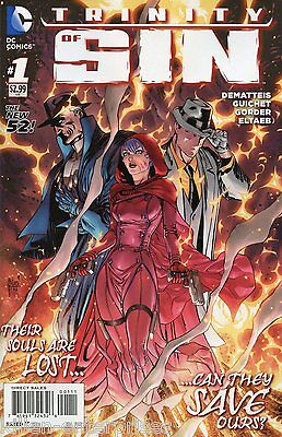 Trinity of Sin #1 Comic Book 2014 New 52 - DC