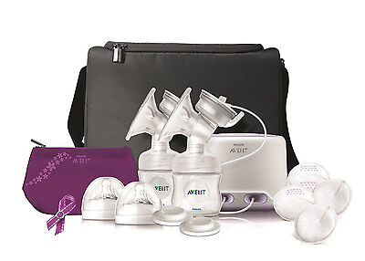 Philips Avent Double Electric Comfort Breast Pump New Sealed!!