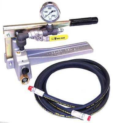 WHEELER-REX 29201 Hydrostatic Test Pump, 1000 PSI