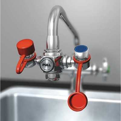 Chrome Eyewash, EW100, Watersaver Faucet Company