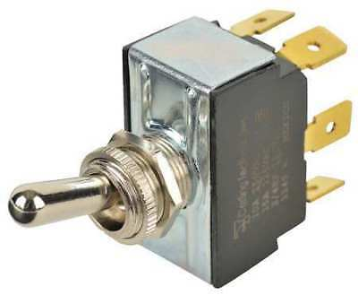 Toggle Switch,DPDT,10A @ 250V,QuikConnct