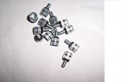Kart Thumb Screw Bead Retainers x 12 with O Ring Washers Brand New