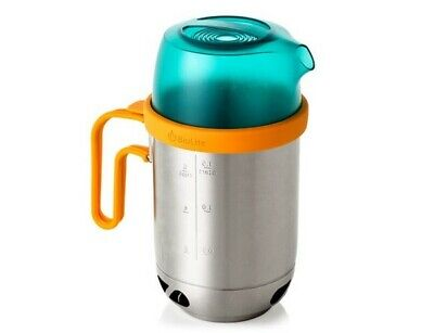 BioLite Kettle Pot Camping Cooking Accessory - Ultra Light Stainless Steel
