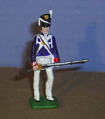 TOY SOLDIERS TIN NORTH AMERICAN WAR OF 1812 AMERICAN SOLDIER AT READY