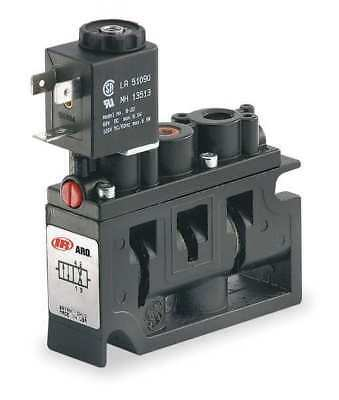 ARO A222SS-120-A Solenoid Air Control Valve,1/4 In,120VAC
