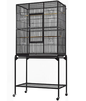 New Bird Parrot Large Cage Cockatiel Conure Finch Parakeet Senegal Canary Budgie