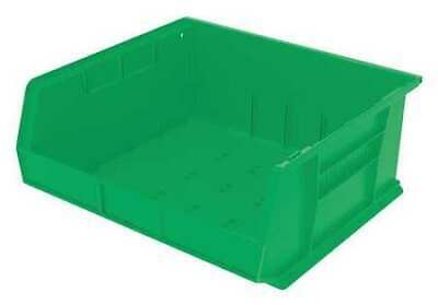 "Green Hang and Stack Bin, 14-3/4""L x 16-1/2""W x 7""H AKRO-MILS 30250GREEN"
