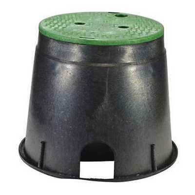 Valve Box,Round,11-5/8in.Hx12-7/8in.W NDS 111BC
