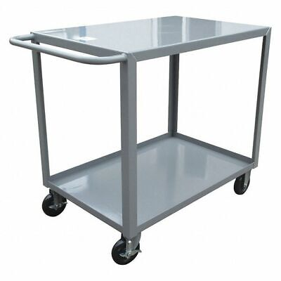 Gray Welded Utility Cart, LG-2436-BRK, Little Giant