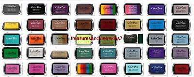Clearsnap COLORBOX ARCHIVAL PIGMENT Ink Pad, CHOOSE YOUR COLOR - FULL SIZE NEW