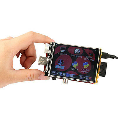 "3.2"" Inch LCD Touch Screen Display Monitor Soft Keyboard For Raspberry Pi B B+"