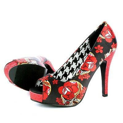 Iron Fist New Collection Slow Dance Platform Black/Red