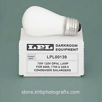 LPL 75W 120V Opal Enlarging Lamp for LPL and Saunders/LPL Condenser Enlargers