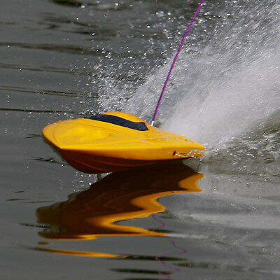 Brand New 2.4Ghz Rocket Brushless Racing RC Boat Yellow Super Fast