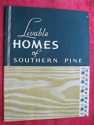 1938 Southern Pine Association,new Orleans Catalog Of Homes / House Plans