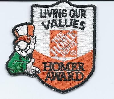 Lmh Patch Badge  Home Depot Uniform Homer Award Living Our Values