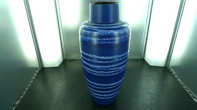 TALL / VINTAGE W GERMAN DECORATIVE VASE 517-30, 30CMS HIGH, VERY NICE CONDITION.
