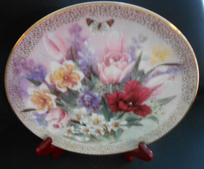 W.S.George Plate Tulip Ensemble-Symphony of shimmering Beauty-By Lena Liu 1991