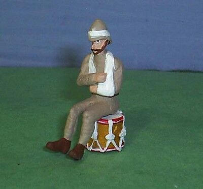 TOY SOLDIERS METAL BOER WAR LANCASHIRE WOUNDED DRUMMER 54MM