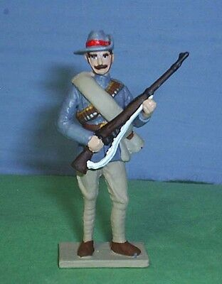 TOY SOLDIERS METAL AFRICA  ZULU WAR NATAL INFANTRY  AT READY 54MM