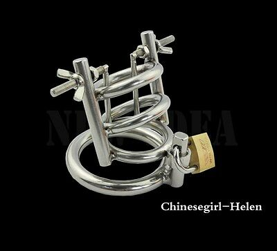 Stainless Steel Male Chastity device  A148
