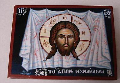 Schweißtuch Jesu Ikone Icon Sudarium of Jesus Ikona orthodox Icoon Icone Suaire