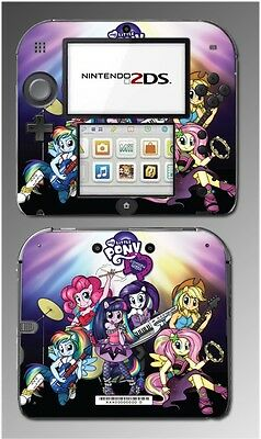 My Little Pony Pony MLP Equestria Girls Doll Video Game Skin Cover Nintendo 2DS