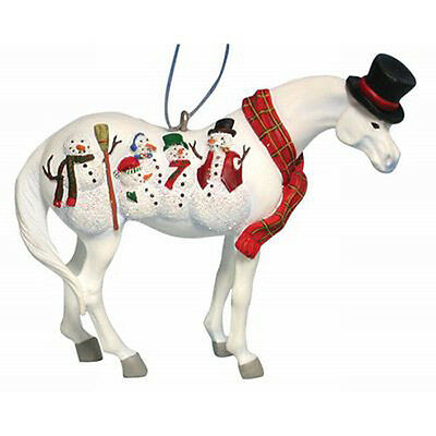 Trail of Painted Ponies FROSTY THE PONY ORNAMENT Retired, New in Box