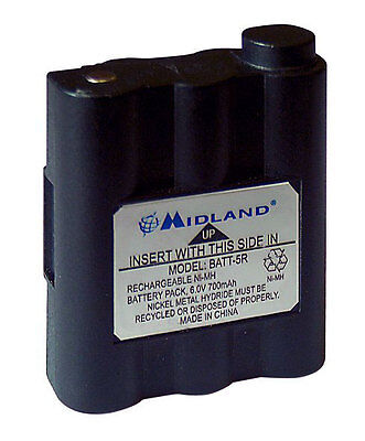 Battery Pack For Midland G7 Batteries 6 Volt Replacement Batteries Power Ni - Mh