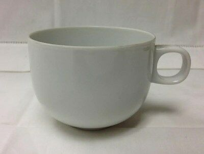 """Rosenthal """"Moon White"""" Coffee Cup 8 Ounce Studio Line Porcelain New Germany"""