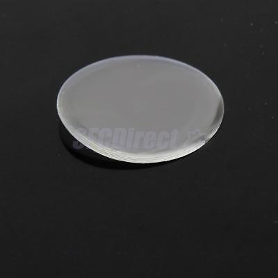 """Lot 100 Adhesive 1"""" Dome Circle Clear Epoxy Seals Stickers for Bottle Cap Crafts"""