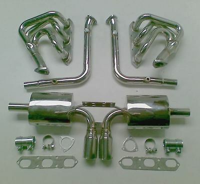 Porsche 986 Boxster S  2.5 2.7 3.2 Stainless Manual Exhaust System 1997 to 2004