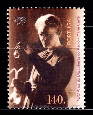 PORTUGAL 1998 TEMA AMERICA UPAEP  Mujeres Famosas. Marie Curie 1v.