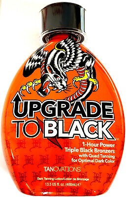 Ed Hardy Upgrade To Black 1 Hour Power Bronzer Indoor Tanning Bed Lotion