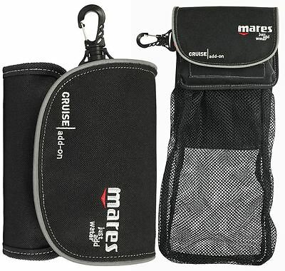 Mares CRUISE ADD ON BAG for Reel, SMB + Hidden Drop Down Expandable Mesh Bag