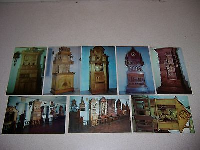Antique Vtg Bily Brothers Clock Collection Spillville Iowa Postcard Lot