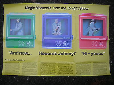 """Magic Moments From the Tonight Show - Johnny Carson, """"Heeere's Johnny!"""" Poster"""