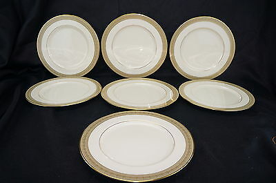 Lenox Greenfield Lot of (7) Dinner Plates 10 5/8""